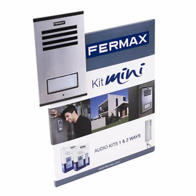 Displays de carton de la marca Fermax, Kit mini
